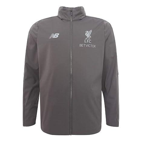 New Balance Liverpool FC Grey Mens Football Jacket Training Precision 20182019 LFC Official Store