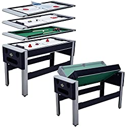 "Lancaster 54"" 4 in 1 Pool Bowling Hockey Table Tennis Combo Arcade Game Table"