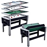 Lancaster 54'' 4 in 1 Pool Bowling Hockey Table Tennis Combo Arcade Game Table