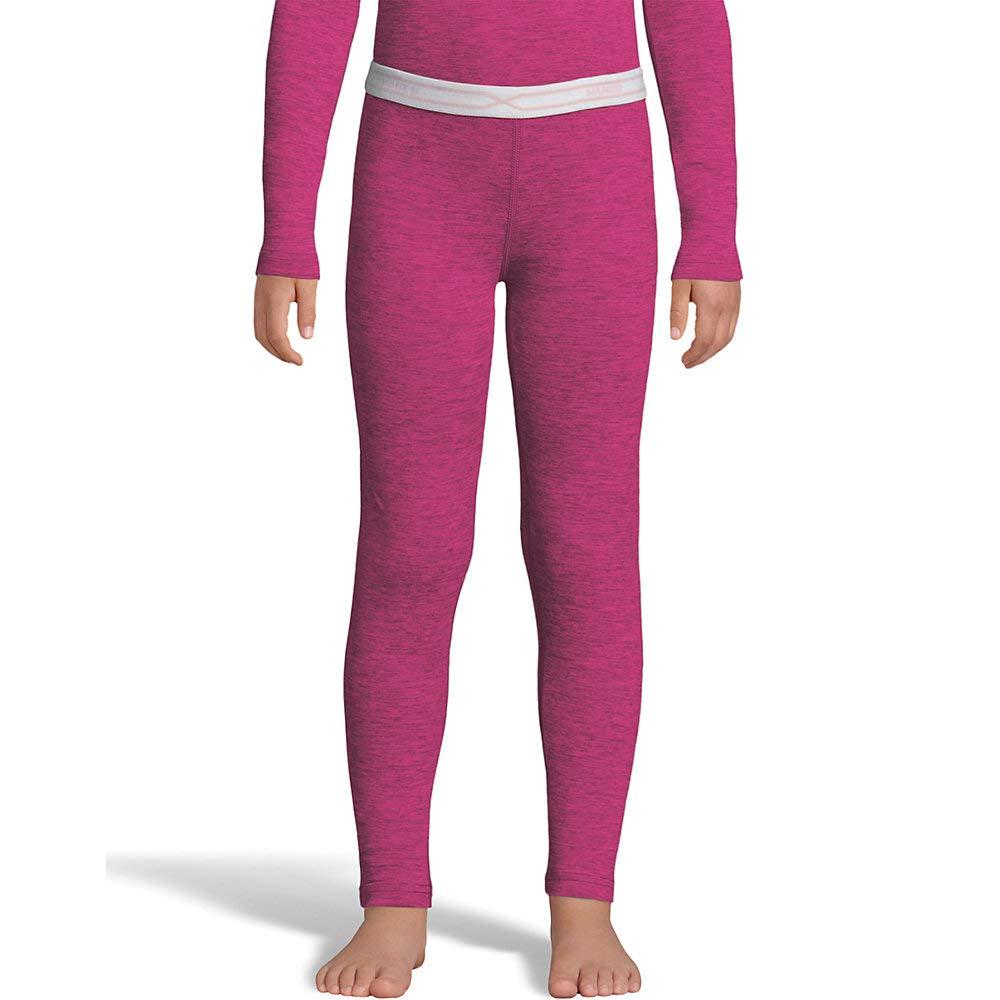 Hanes Girls Poly Spandex Space Dye Thermal Pant