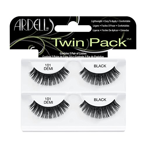Ardell Twin Pack, 101 Demi Black, (Pack of 1)