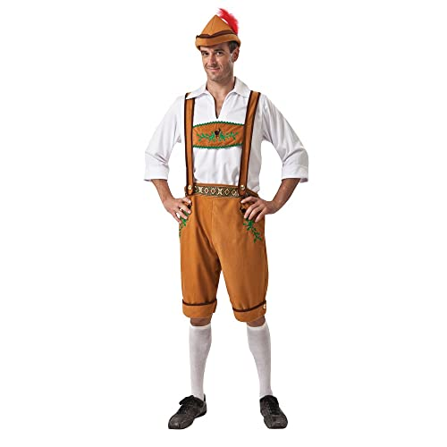 Bristol Novelty AC642 German Country Man Costume, 42-44-Inch