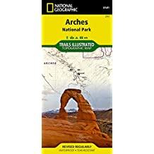 211 Arches National Park1:50K Utah Trail Map