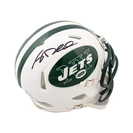 Image Unavailable. Image not available for. Color  Sam Darnold Autographed  New York Jets Speed Mini Football Helmet - JSA COA 7af0627b7