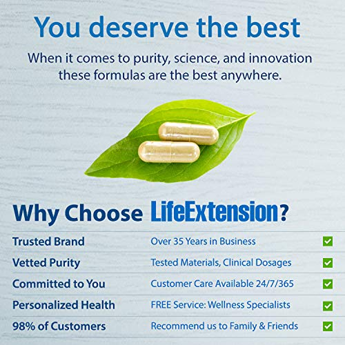 Life Extension Melatonin 1 Mg, 60 Capsules by Life Extension (Image #3)