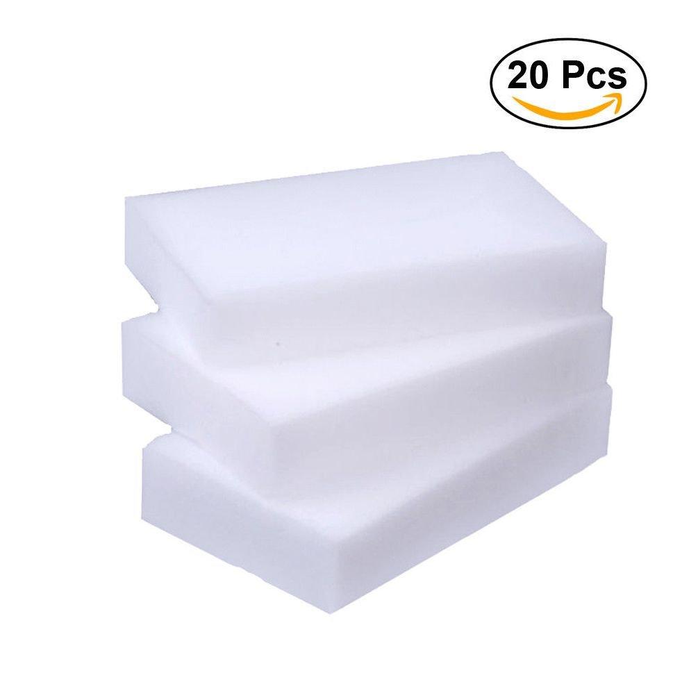 4x20pc Melamine Foam Magic Sponge Eraser Multi-Functional Home Cleaning Cleaner Pad