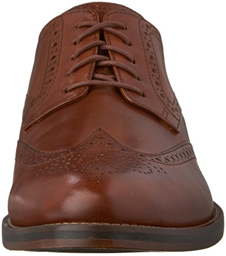 Cole Haan Hombres Madison Grand Wingtip Oxford British Tan