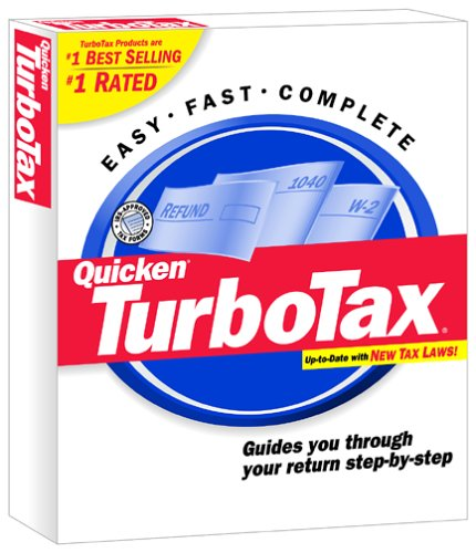 TurboTax 2001 for Windows by Intuit
