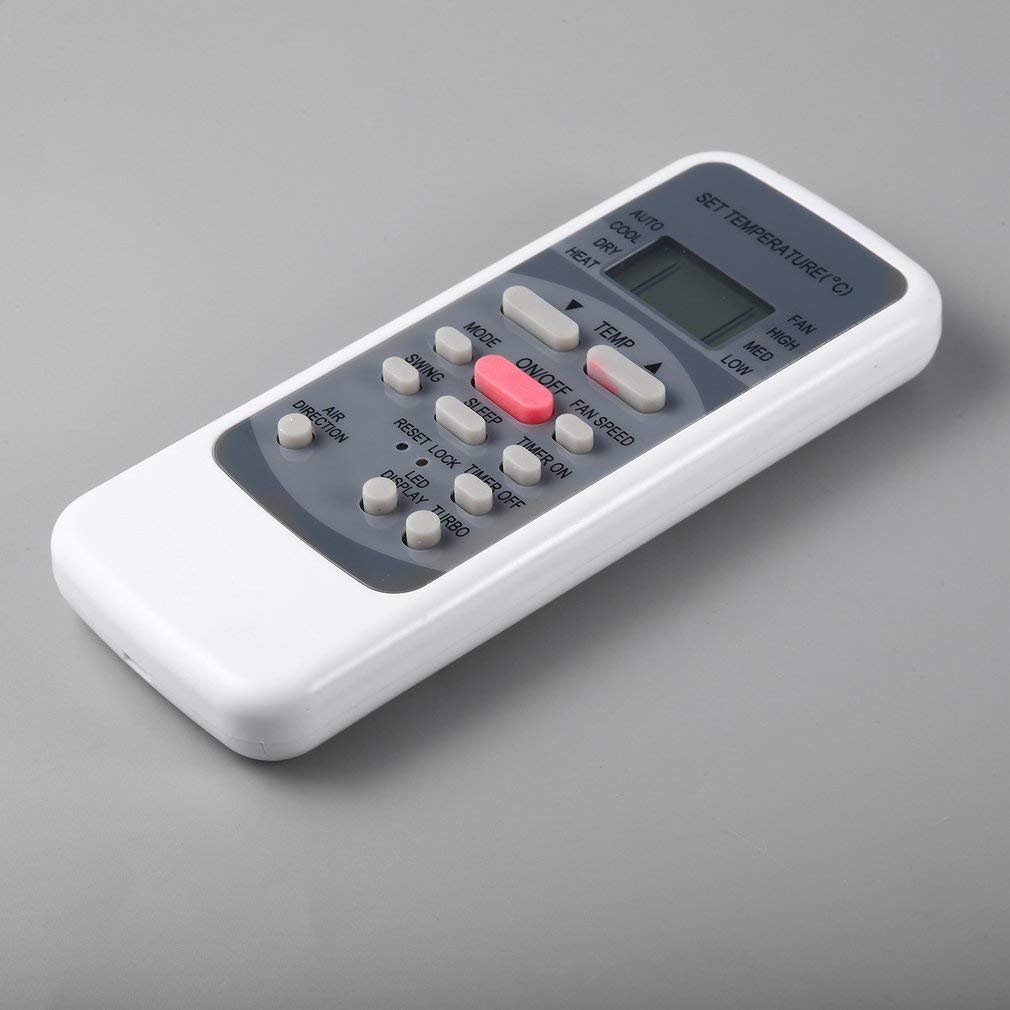Reemplazo del Controlador de Control Remoto Universal Air Conditioner para Media R51M (Color: Gris): Amazon.es: Electrónica