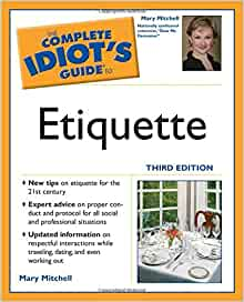 Bluffer's Guide To Etiquette (Bluffer's Guides) Kindle Edition