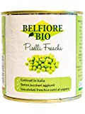 Belfiore Bio Piselli Biologici Inscatolati Freschi - 340 gr, Italiani