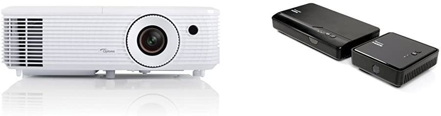 Optoma HD27 - Proyector (3200 lumens, FHD, 2W, HDMI), color blanco ...