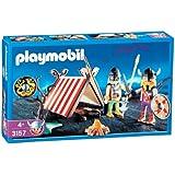 Playmobil - 3157 - Tente et vikings