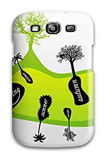 Perfect Trees On Seasons Case Cover Skin For Galaxy S3 Phone Case