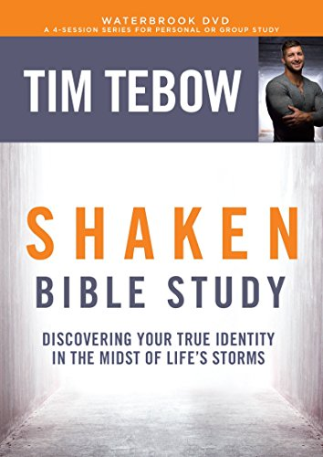 Shaken Bible Study DVD: Discovering Your True Identity in the Midst of Life's Storms by WaterBrook Press