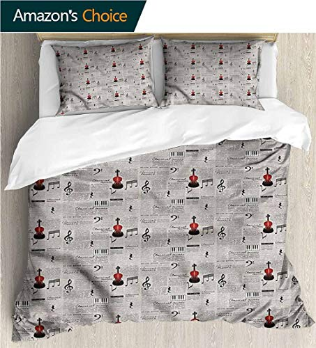 Home 3 Piece Print Quilt Set,Box Stitched,Soft,Breathable,Hypoallergenic,Fade Resistant