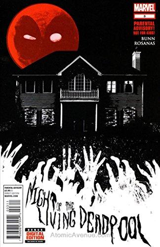 Night of the Living Deadpool #3 FN ; Marvel comic book