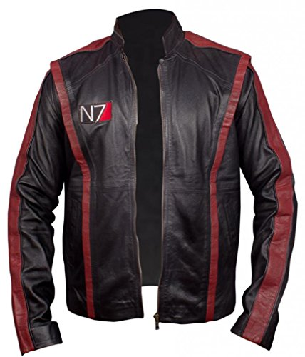 F Mass Black 3 Men's amp;H Jacket Effect Commander N7 Shepherd qanqprwx