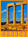 Greece Greek Athens Acropolis Europe European Travel Advertisement Poster