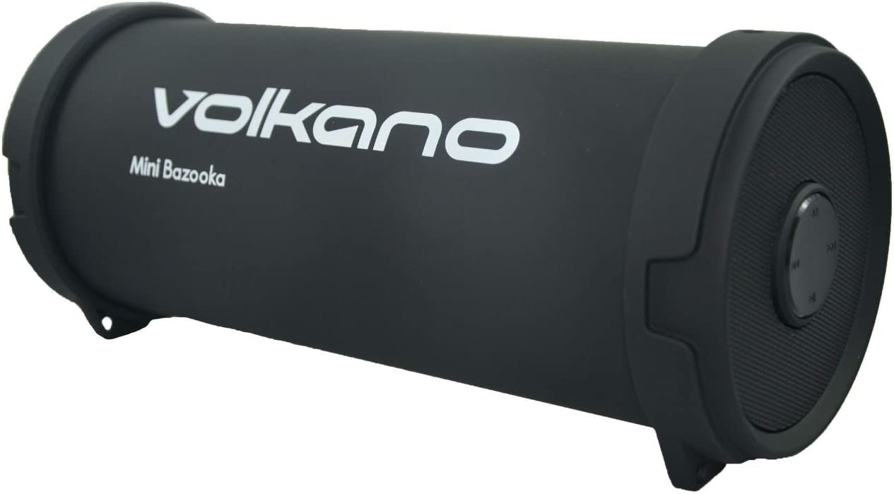 volkano mini bazooka bluetooth speaker