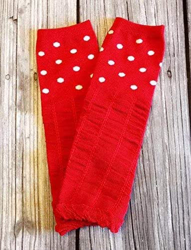 4c73f7c43918c6 Amazon.com: red leg warmers Baby legwarmers - girl legwarmers ...