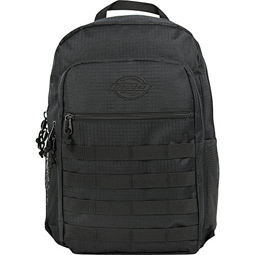 (Dickies Campbell Backpack, Black Ripstop One Size)