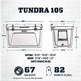 YETI Tundra 105 Cooler, White