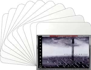 "(30) (30mil blanco cinta de casete caja divisor tarjetas–3–3/4""x 4–3/8""–cans38wh30"