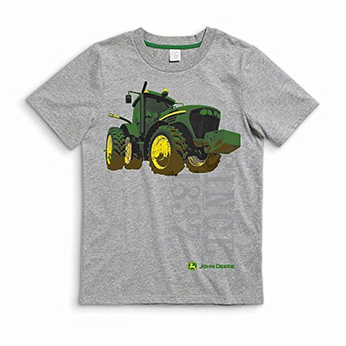 Large John Deere Tractor Youth T-Shirt ()