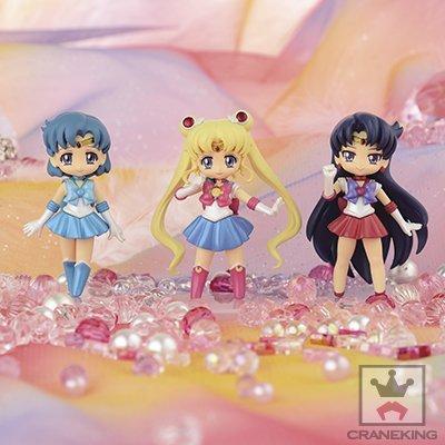 Sailor Moon Crystal Collect figures for Girls1 Anime prize Banpresto (three set) (Atsumete Sailor Moon)