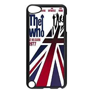 Qxhu The Who patterns Hard Plastic Back Protective case for Ipod Touch5