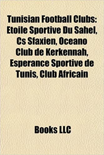 Buy Tunisian Football Clubs Etoile Sportive Du Sahel Book Online At