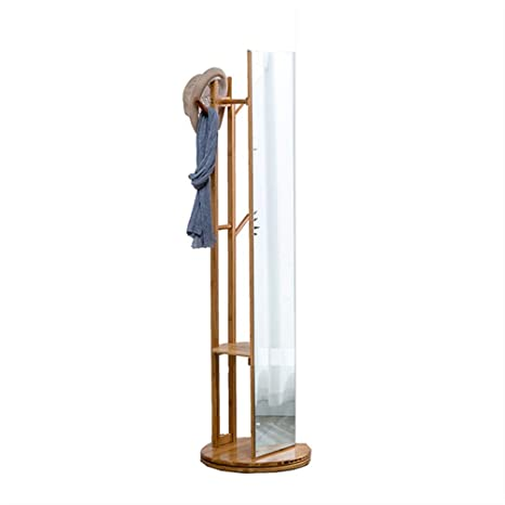 Amazon.com: Y.H.Valuable Coat Racks Dressing Mirror Coat ...
