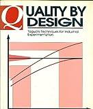 Quality by Design, N. Belavendram, 0131863622