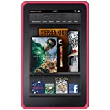 Amzer Soft Silicone Jelly Skin Fit Case Cover for Amazon Kindle Fire (2011) - Baby Pink