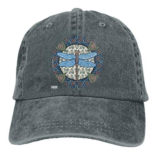 - WAYOULUCK Unisex Adjustable Baseball Cap Multicolor Dragonfly Trucker Hat Deep Heather