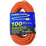 CEP Construction Electrical Products 1400 14-Gauge 3 Wire 100-Feet Orange Extension Cord