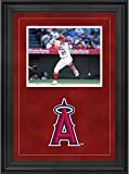 "Sports Memorabilia Los Angeles Angels Deluxe 8"" x 10"" Horizontal Photograph Frame with Team Logo - Baseball Other Display Cases"
