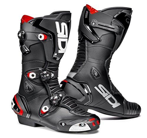 Sidi Mag-1 Motorcycle Boots Black US9.5/EU43 (More Size Options) ()