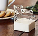 Witty Novelty Milk Carton Creamer