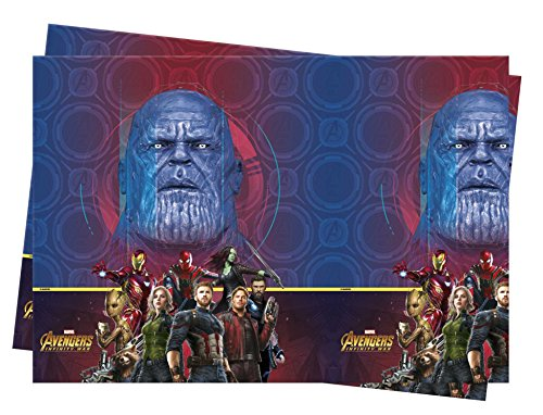 Avengers Infinity War Plastic Table -