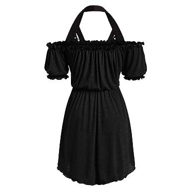 UOMOGO - Vestido gótico Vintage para Mujer, Estilo Medieval Negro ...