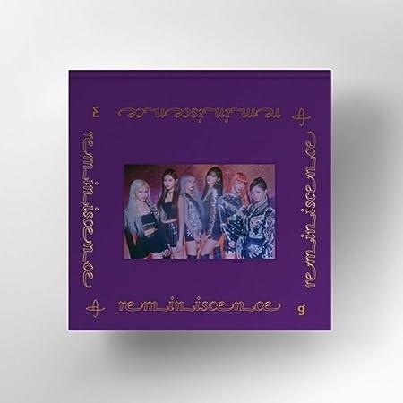 EVERGLOW 2nd Mini Album - Reminiscence Album + 2Folded Poster