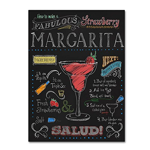 Strawberry Margarita by Fiona Stokes-Gilbert - alcohol wall art