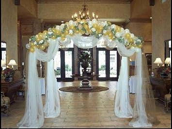 Amazon new 48 balloon arch strip wedding bridal birthday new 48 balloon arch strip weddingbridalbirthdayparty quinceanera decoration junglespirit Image collections