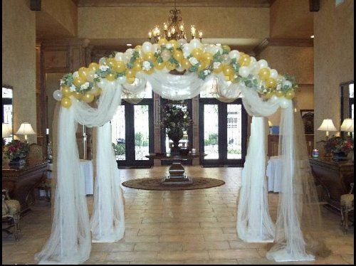 Amazon.com : New 48\' Balloon Arch Strip Wedding, Bridal, Birthday ...