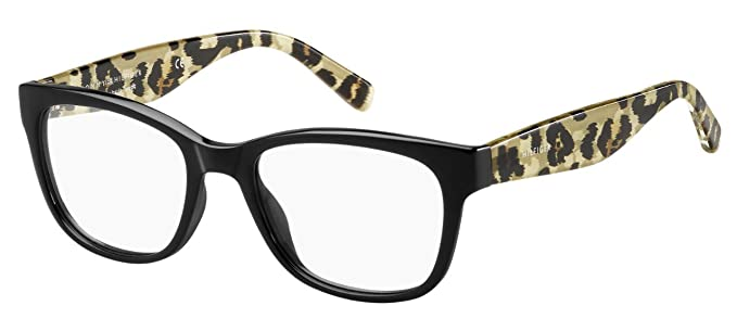 5c9e57e584b9a Tommy Hilfiger - Montura de gafas - para mujer Negro negro  Amazon.es  Ropa  y accesorios
