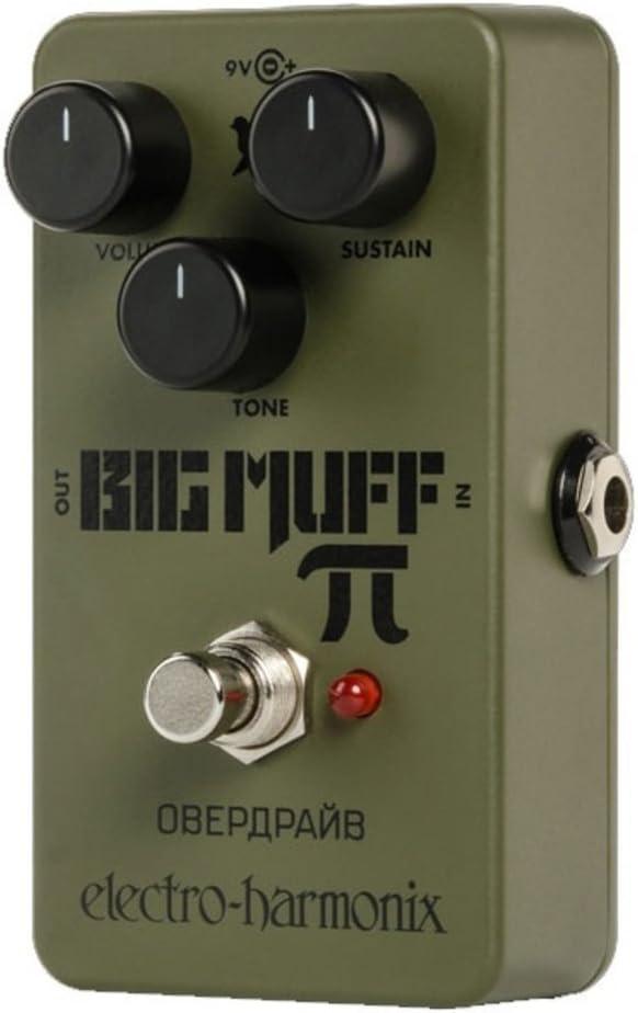 Electro Harmonix Green Russian Big Muff · Pedal guitarra eléctrica