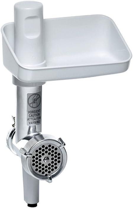 Bosch MUZ5FW1 - Picadora de carne eléctrica, accesorio para Robot de Cocina MUM5, plástico y acero inoxidable: Amazon.es: Hogar