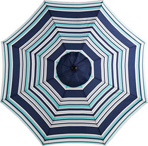 (Uptown Direct Sales Mosaic 9 Ft (Foot) Outdoor Patio Round Steel Market Beach)